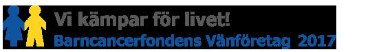 Vikströms stödjer Barncancerfonden